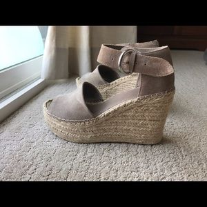 Marc Fisher Espadrilles, taupe / soft grey